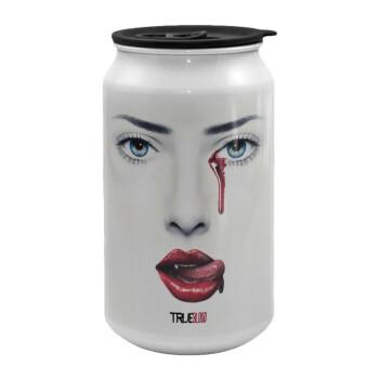True blood, Κούπα ταξιδιού μεταλλική με καπάκι (tin-can) 500ml