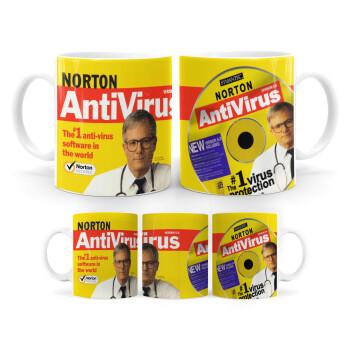 Norton antivirus, Κούπα, κεραμική, 330ml (1 τεμάχιο)