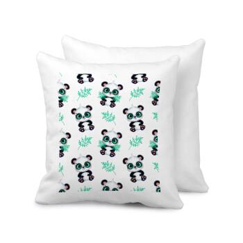 Panda, Μαξιλάρι καναπέ 40x40cm περιέχεται το γέμισμα
