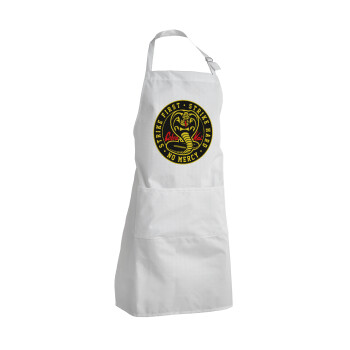 cobra kai strike first dojo, Ποδιά μαγειρικής BBQ Ενήλικων