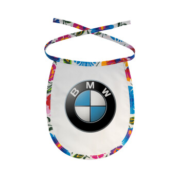 BMW, Σαλιάρα μωρού αλέκιαστη με κορδόνι Χρωματιστή
