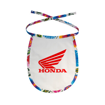 Honda, Σαλιάρα μωρού αλέκιαστη με κορδόνι Χρωματιστή