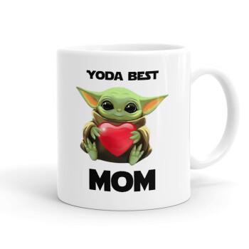 Yoda Best mom, Κούπα, κεραμική, 330ml (1 τεμάχιο)