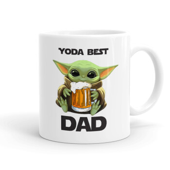 Yoda Best Dad, Κούπα, κεραμική, 330ml (1 τεμάχιο)