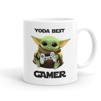 Yoda Best Gamer, Κούπα, κεραμική, 330ml (1 τεμάχιο)