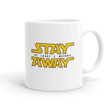Stay Away, Κούπα, κεραμική, 330ml (1 τεμάχιο)