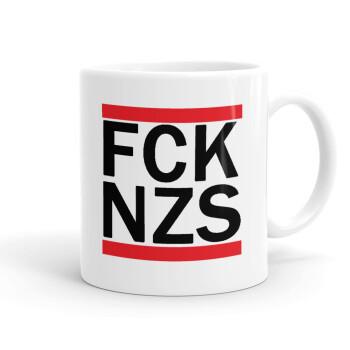 FCK NZS, Κούπα, κεραμική, 330ml (1 τεμάχιο)