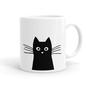 Μαύρη γάτα, Κούπα, κεραμική, 330ml (1 τεμάχιο)