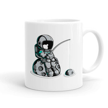 Αστροναύτης ψαρεύει στο διάστημα, Κούπα, κεραμική, 330ml (1 τεμάχιο)