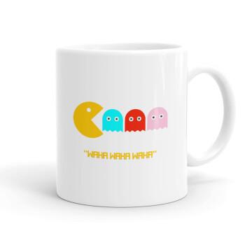 Pacman waka waka waka, Κούπα, κεραμική, 330ml (1 τεμάχιο)