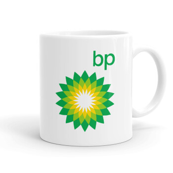Πρατήριο καυσίμων BP, Κούπα, κεραμική, 330ml (1 τεμάχιο)