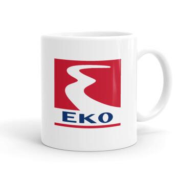 Πρατήριο καυσίμων EKO, Κούπα, κεραμική, 330ml (1 τεμάχιο)