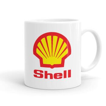 Πρατήριο καυσίμων SHELL, Κούπα, κεραμική, 330ml (1 τεμάχιο)