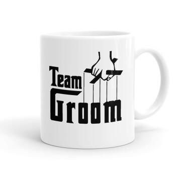 Team Groom, Κούπα, κεραμική, 330ml (1 τεμάχιο)