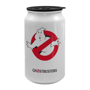 Ghostbusters, Κούπα ταξιδιού μεταλλική με καπάκι (tin-can) 500ml