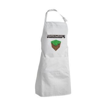 Minecraft dirt, Ποδιά μαγειρικής BBQ Ενήλικων