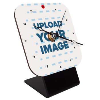 Το δικό σου σχέδιο, Επιτραπέζιο ρολόι ξύλινο με δείκτες (10cm)