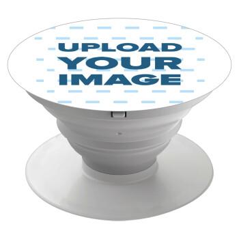 Το δικό σου σχέδιο, Pop Socket Λευκό Βάση Στήριξης Κινητού στο Χέρι