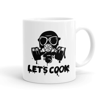 Let's cook mask, Κούπα, κεραμική, 330ml (1 τεμάχιο)