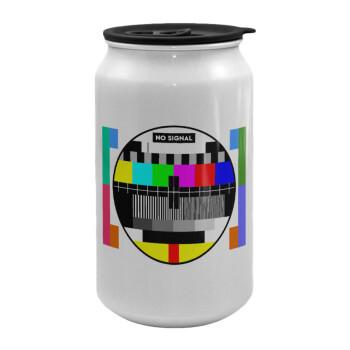 No signal, Κούπα ταξιδιού μεταλλική με καπάκι (tin-can) 500ml