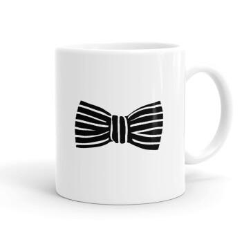Bow tie, Κούπα, κεραμική, 330ml (1 τεμάχιο)