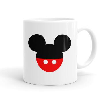 Mickey head, Κούπα, κεραμική, 330ml (1 τεμάχιο)