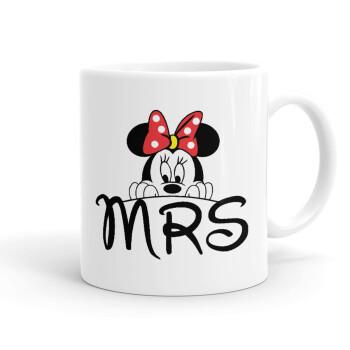 Minnie Mrs, Κούπα, κεραμική, 330ml (1 τεμάχιο)