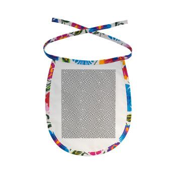 Doodle Maze, Σαλιάρα μωρού αλέκιαστη με κορδόνι Χρωματιστή