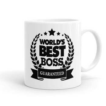 World's best boss stars, Κούπα, κεραμική, 330ml (1 τεμάχιο)