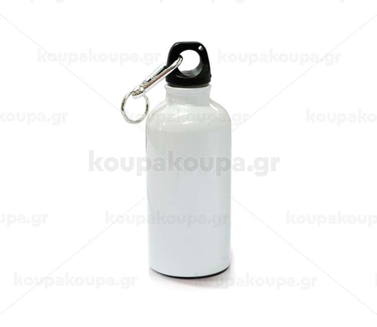 Aluminium Water Bottle (White)