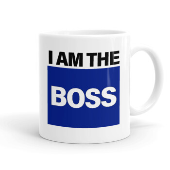 I am the Boss, Κούπα, κεραμική, 330ml (1 τεμάχιο)