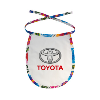 Toyota, Σαλιάρα μωρού αλέκιαστη με κορδόνι Χρωματιστή