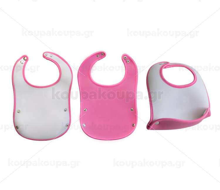 Σαλιάρες μωρού neoprene σε 2 χρώματα, ρυθμιζόμενες!