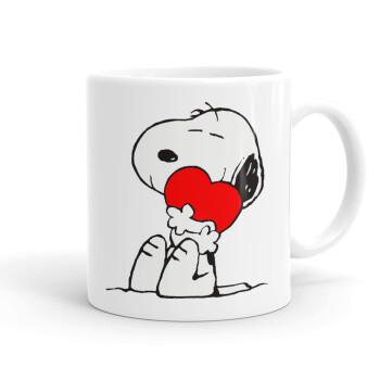 Snoopy, Κούπα, κεραμική, 330ml (1 τεμάχιο)
