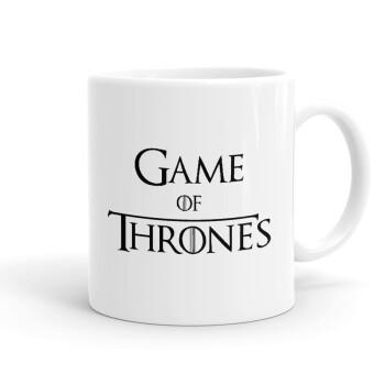Game of Thrones, Κούπα, κεραμική, 330ml (1 τεμάχιο)