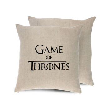 Game of Thrones, Μαξιλάρι καναπέ ΛΙΝΟ 40x40cm περιέχεται το γέμισμα