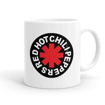 Red Hot Chili Peppers, Κούπα, κεραμική, 330ml (1 τεμάχιο)
