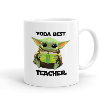 Yoda Best Teacher, Κούπα, κεραμική, 330ml (1 τεμάχιο)