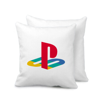Playstation, Μαξιλάρι καναπέ 40x40cm περιέχεται το γέμισμα