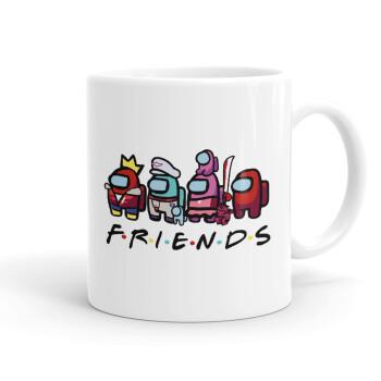 Among US Friends, Κούπα, κεραμική, 330ml (1 τεμάχιο)