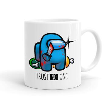 Among Trust no one, Κούπα, κεραμική, 330ml (1 τεμάχιο)