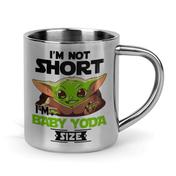 I'm not short, i'm Baby Yoda size,