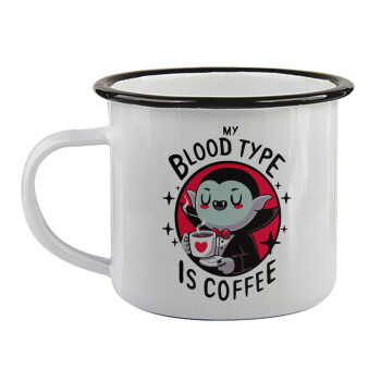 My blood type is coffee,