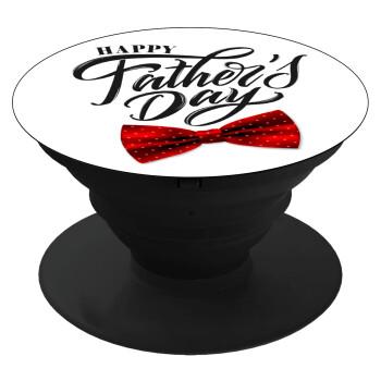 Happy father's Days, Pop Socket Μαύρο Βάση Στήριξης Κινητού στο Χέρι