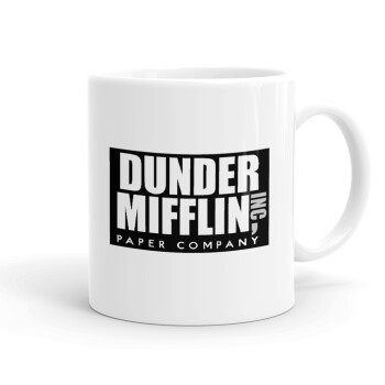 Dunder Mifflin, Inc Paper Company, Κούπα, κεραμική, 330ml (1 τεμάχιο)