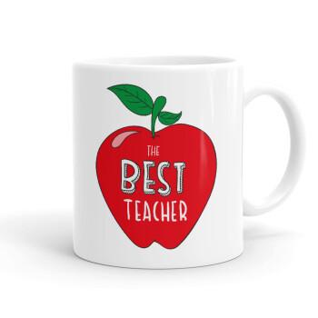 Best teacher, Κούπα, κεραμική, 330ml (1 τεμάχιο)