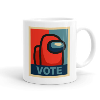 Among US VOTE, Κούπα, κεραμική, 330ml (1 τεμάχιο)