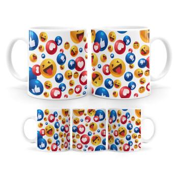 3D Emoji Collection, Κούπα, κεραμική, 330ml (1 τεμάχιο)