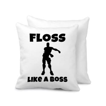 Fortnite Floss Like a Boss, Μαξιλάρι καναπέ 40x40cm περιέχεται το γέμισμα