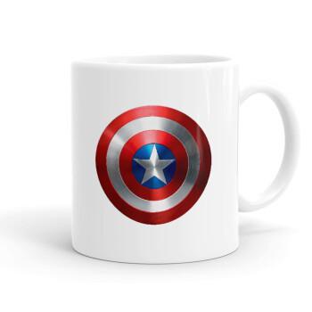 Captain America, Κούπα, κεραμική, 330ml (1 τεμάχιο)